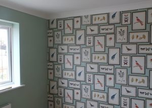 Wallpaper hanger in Boston Lincolnshire
