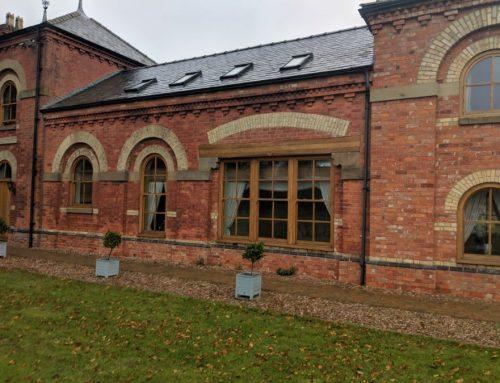 External Redecoration of Oak Windows